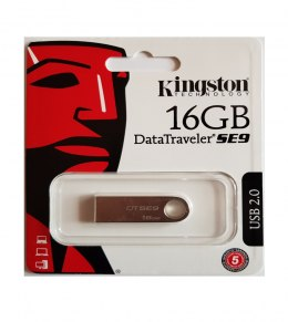 Kingston Pamięć 16GB USB 2.0 DataTraveler SE9