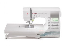 Singer Sewing Machine Quantum Stylist™ 9960 White, Number of stitches 600, Number of buttonholes 13, Automatic threading