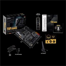 Asus TUF GAMING X570-PLUS (WI-FI) Processor family AMD, Processor socket AM4, DDR4, Memory slots 4, Number of SATA connectors 8,