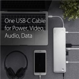 Aten USB-C Multiport Dock with Power Pass-Through