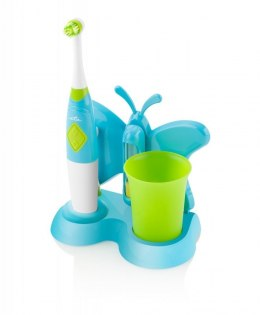 ETA Toothbrush with water cup and holder Sonetic 1294 90080 For kids, Blue/ green, 2, Number of brush heads included 2
