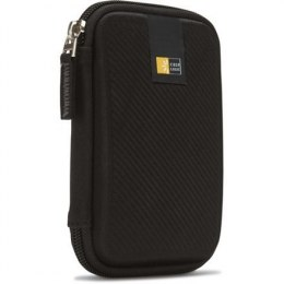 Case Logic Portable Hard Drive Case Black, Molded EVA Foam