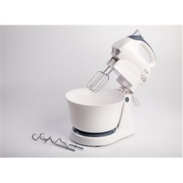 Hand Mixer Adler AD 4202 White, Hand Mixer, 300 W, Number of speeds 5, Shaft material Stainless steel