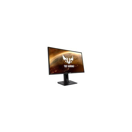 "Asus TUF Gaming VG279QM 27 "", IPS, FHD, 1920 x 1080 pixels, 16:9, 1 ms, 400 cd/m², Black, 1 x DP 1.2, 2 x HDMI 2.0"