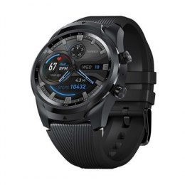 TicWatch Pro 4G/LTE Smart watch, NFC, GPS (satellite), AMOLED, Touchscreen, Heart rate monitor, Activity monitoring 24/7, Waterp
