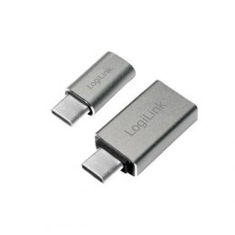 Logilink USB-C to USB3.0 and Micro USB Adapter USB 3.0, Micro USB 2.0, USB 3.1 type-C