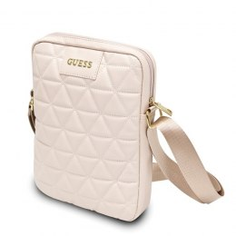 "Guess Quilted Tablet Bag - Torba na notebooka 10"" (różowy)"