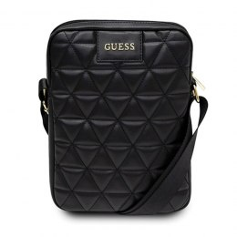 "Guess Quilted Tablet Bag - Torba na notebooka / tablet 10"" (czarny)"