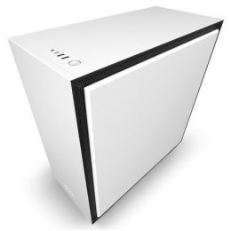 NZXT H710 Side window, White/Black, ATX, Power supply included No