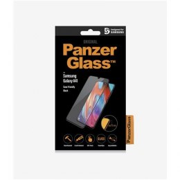 PanzerGlass Screen Protector, Samsung Galaxy A41, Glass, Black/Crystal clear