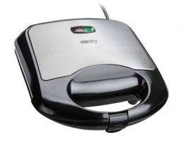 Waffle maker Camry CR 3019 Black/Inox, 700 W, Belgium, Number of waffles 2, Ceramic coating