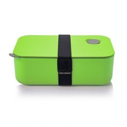 Yoko Design 1386-7850D Lunch Box, Green, Capacity 1 L, Yes