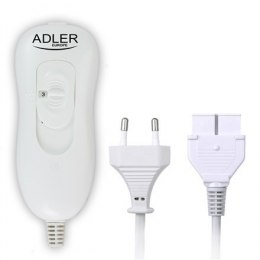 Adler Electirc heating under-blanket AD 7415 Number of heating levels 4, Number of persons 2, Washable, Remote control, Coral fl