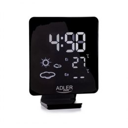 Adler Weather station AD 1176 Black, White Digital Display, Remote Sensor