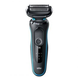 Braun Shaver 50-M1200s	 Cordless, Charging time 1 h, Lithium Ion, Number of shaver heads/blades 3, Black/Blue, Wet & Dry