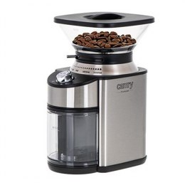 Camry Coffee Grinder CR 4443 200 W, Coffee beans capacity 230 g, Number of cups 12 per container pc(s), Inox