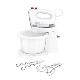 Bosch MFQ2600G Hand Mixer, 375 W, Number of speeds 4, Shaft material Stainless steel, White