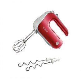Hand Mixer Bosch MFQ40303 Red, 500 W, Hand Mixer, Number of speeds 5, Shaft material Stainless steel