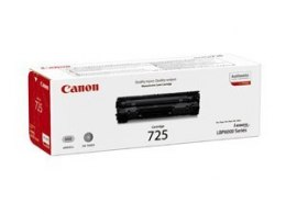 Canon 725 Toner Cartridge, Black