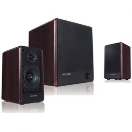 Microlab FC-330 Speaker type 2.1, 3.5mm, Black/Dark Wood, 56 W