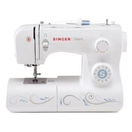 Sewing machine Singer SMC 3323 White, Number of stitches 23, Automatic threading