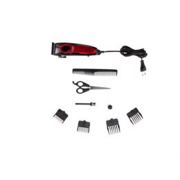Adler Hair clipper AD 2825 Corded, Red