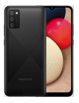 "Samsung Galaxy A02s Black, 6.5 "", PLS IPS, 720 x 1600, Qualcomm SDM450 Snapdragon 450, Internal RAM 3 GB, 32 GB, microSDXC, Dual"
