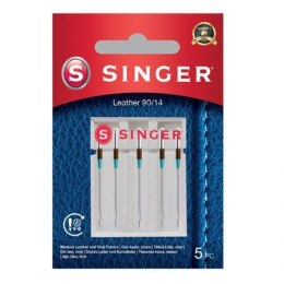 Singer Leather Needle 90/14 5PK