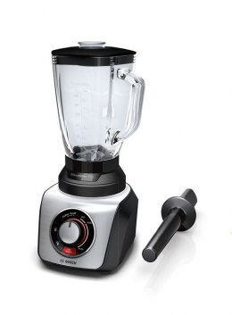 Bosch Blender SilentMixx Pro MMB66G5MB Tabletop, 900 W, Jar material Glass, Jar capacity 2.3 L, Ice crushing, Black/Stainless st