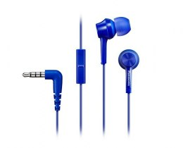 Panasonic Canal type RP-TCM115E-A In-ear, 3.5mm (1/8 inch), Microphone, Blue,