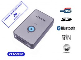 Zmieniarka cyfrowa emulator MP3 USB SD BMW 12PIN BT... (NVOX NV1080B BT BMW 12PIN)