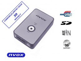 Zmieniarka cyfrowa emulator MP3 USB SD BMW 12PIN... (NVOX NV1080A BMW 12PIN)