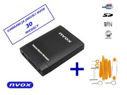 Zmieniarka cyfrowa emulator MP3 USB SD BMW ROVER MINI 17 PIN... (NVOX NV1086m BMW1 17PIN)