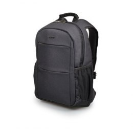 "Port Designs Sydney Fits up to size 14 "", Black, Shoulder strap, Backpack"