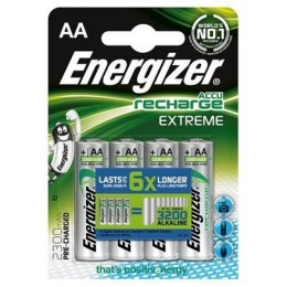 Energizer AA/HR6, 2300 mAh, Rechargeable Accu Extreme Ni-MH, 4 pc(s)
