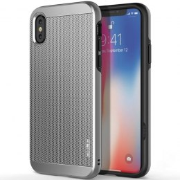 Obliq Slim Meta - Etui iPhone X (Satin Silver)
