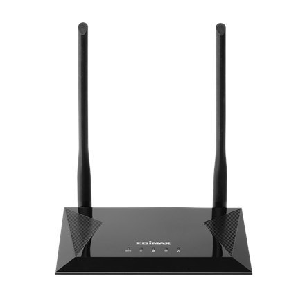 Edimax 4-in-1 N300 Wi-Fi Router, Access Point, Range Extender and WISP BR-6428NS V5 10/100 Mbit/s, Ethernet LAN (RJ-45) ports 4,