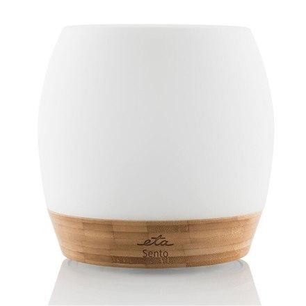 ETA Aroma diffusor Sento ETA263490000 12 W, Ultrasonic, Suitable for rooms up to 20 m², White/Wood, 800 g