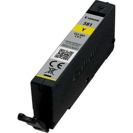 Image of Canon CLI-581Y Ink Cartridge, Yellow