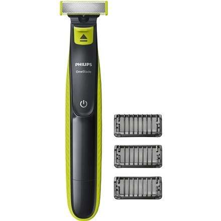 Philips Shaver OneBlade QP2520/20 Cordless, Charging time 8 h, Operating time 45 min, Wet use, NiMH, Number of shaver heads/blad