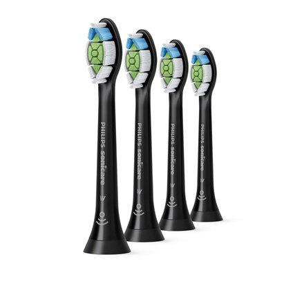 Image of Philips Toothbrush replacement HX6064/11 Heads, For adults, Number of brush heads included 4, Black