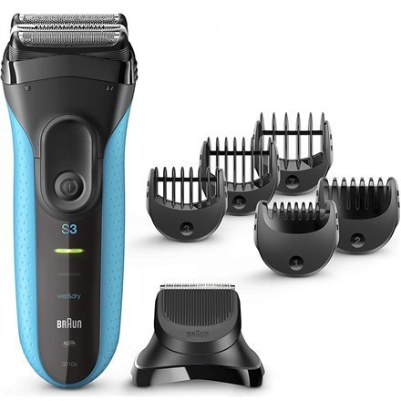 Image of Braun Shaver with trimmer Series 3 Shave&Style 3010BT Cordless, Charging time 1 h, Operating time 45 min, Wet use, NiMH, Number