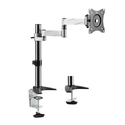 "Logilink Monitor mount BP0076 Desk Mount, 13-27 "", Tilt, swivel, level adjustment, Maximum weight (capacity) 8 kg"