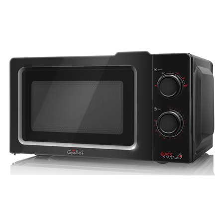 Gallet Microwave oven GALFMOM205B Free standing, 700 W, Black