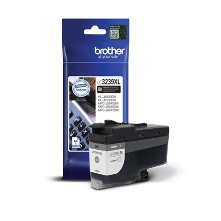 Image of Brother High-yield Ink Cartridge LC3239XLBK Ink, Black