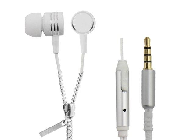 EH161W Esperanza słuchawki douszne zipper eh161w białe